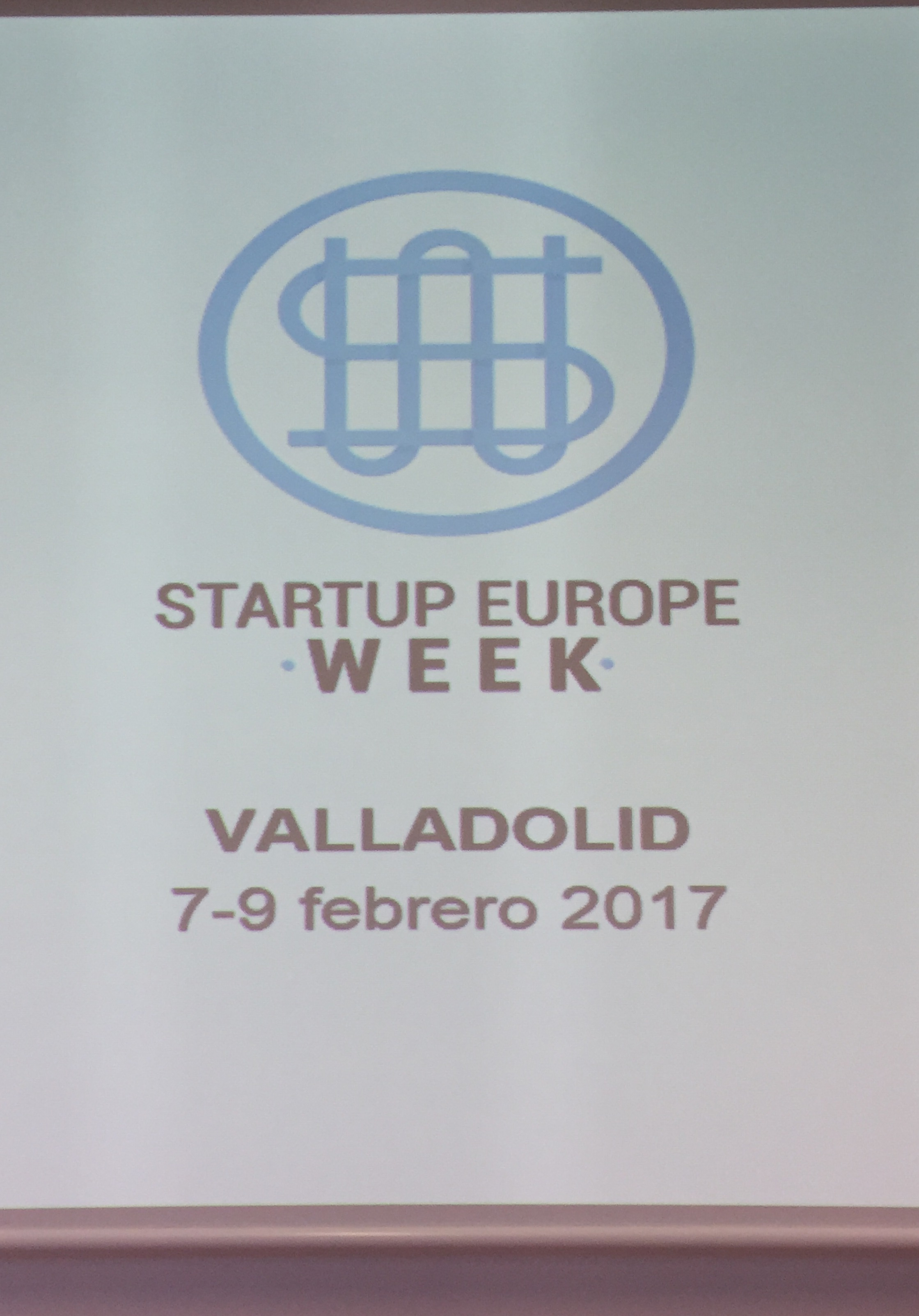 Cartel de Startup Europe Week
