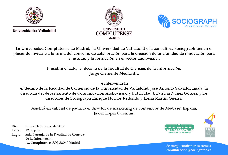 Invitacion Firma Convenio